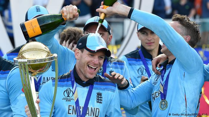 ICC Cricket World Cup Finale 2019 Neuseeland (Getty Images/AFP/G. Kirk)