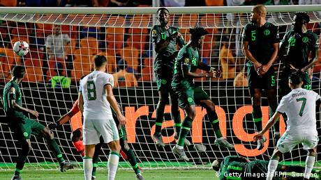 Africa Cup Algerien vs Nigeria (Getty Images/AFP/J. Soriano)
