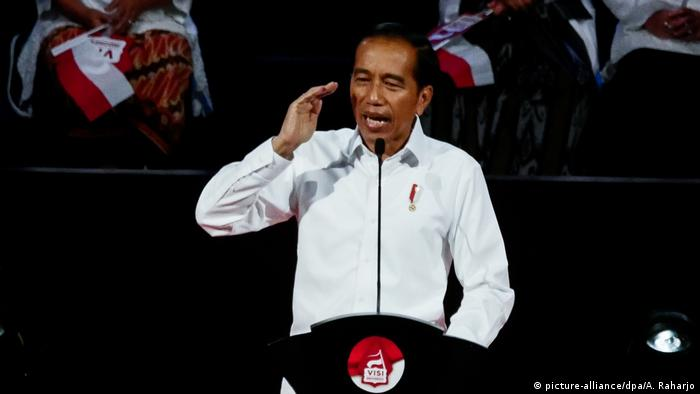 Indonesia's Presidential Vision and Mission 2019-2024 (picture-alliance/dpa/A. Raharjo)