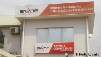 Angola - Logo Empresa Nacional de Distribuição de Electricidade