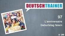 DEUTSCHKURSE | Deutschtrainer | Folge 97 | 097_000f_Titelfolie_FRA