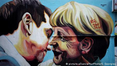 Ο Αλέξης Τσίπρας αποχαιρετά την Άγκελα Μέρκελ