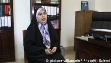 Iran | Zum tragen von Hidschabs: Parvaneh Salahshouri