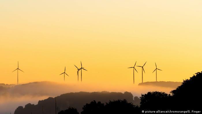 Windkraftanlagen im Hochsauerlandkreis