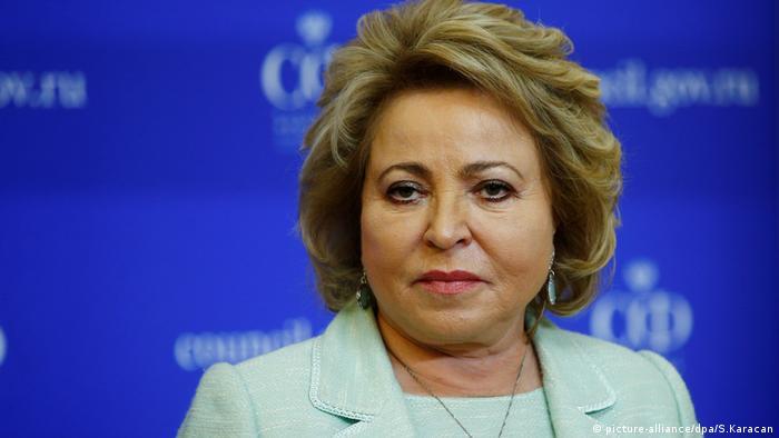 Valentina Matviyenko.
