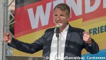 Wahlkampfauftakt der AfD Brandenburg vor Landtagswahl