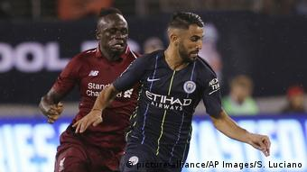 Mane will be going up against Riyad Mahrez in the final in a Premier League battle