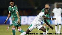 Afrika Cup 2019 | Riyad Mahrez und Sadio Mane (picture-alliance/AP Photo/A. Schalit)