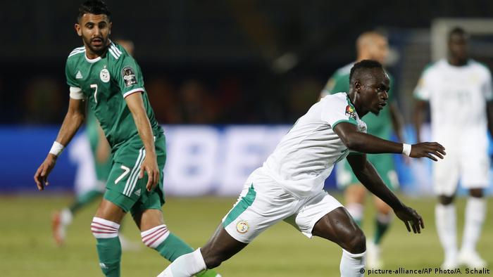 Afrika Cup 2019 | Riyad Mahrez und Sadio Mane