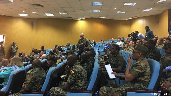 Äthiopien Addias Baba | US Militär in Partnerschaft mit Äthiopische Streitkräften und weiteren Organisationen (DW/S. Mushie)