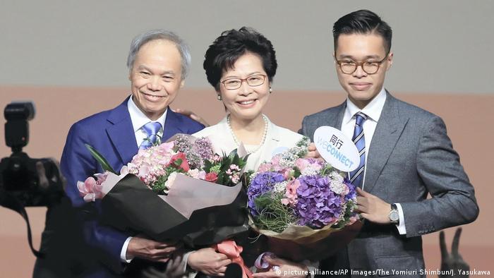 Hong Kong | Carry Lam feiert Ihren Wahlsieg 2017