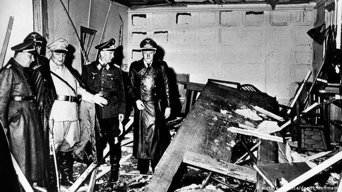 Deutschland 75 Jahre Attentat auf Hitler (picture-alliance/dpa/H. Hoffmann)
