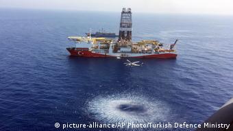 Το τουρκικό γεωτρύπανο «Fatih» στα ανοιχτά της Κύπρου