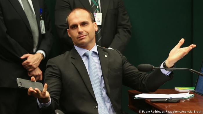 Foto de Eduardo Bolsonaro