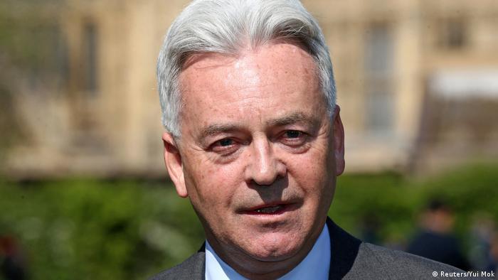 UK Staatsminister für Europa und Amerika Alan Duncan