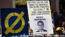 Puerto Rico Proteste gegen Gouverneur Ricardo Rossello