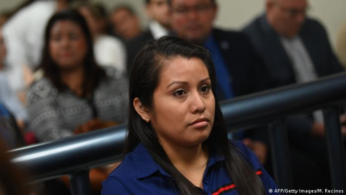 El Salvador | Evelyn Hernández | Anklage | Abtreibung | Mord (AFP/Getty Images/M. Recinos)