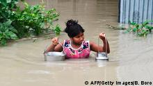 Indien | Monsun | Hochwasser (AFP/Getty Images/B. Boro)