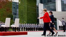 Angela Merkel und Premierministerin Maia Sandu Moldavien