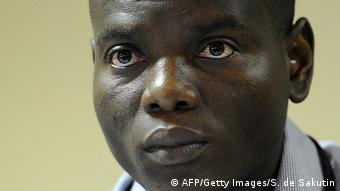 Ronald Lamola vom Jugendverband des ANC (African National Congress)