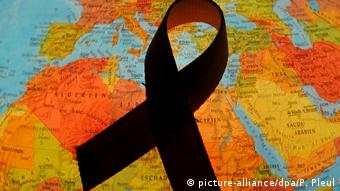 HIV Aids Symbol Schleife