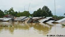 16.7.2019, Rangamati, Bangladesh, Hochwasser, Kaptai Lake,
