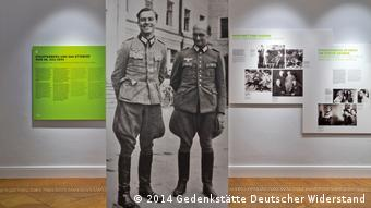 Exhibition room at the German Resistance Memorial Center