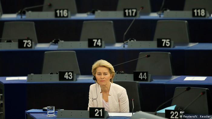 Ursula von der Leyen, presidente eleita da Comissão Europeia