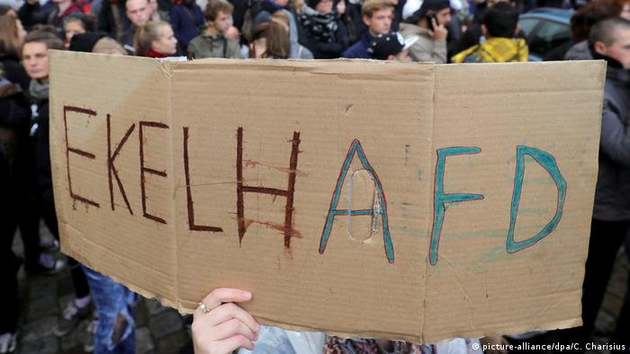 Deutschlannd Symbolbild Hass in der Gesellschaft