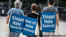 Deutschland Syxmbolbild Hass im Netz