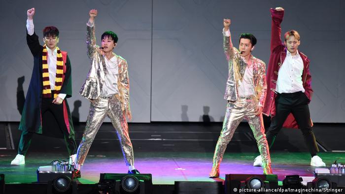 The South Korean band Super Junior