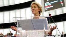 Frankreich Wahl zur EU-Kommissionspräsidentin | Ursula von der Leyen | Rede nach Bestätigung