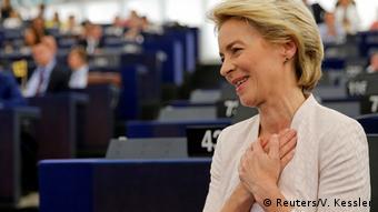 Frankreich Wahl zur EU-Kommissionspräsidentin | Ursula von der Leyen (Reuters/V. Kessler)