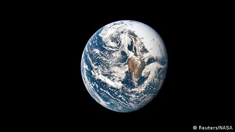 The Earth from space, photographed in 1969