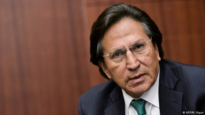 El expresidente Alejandro Toledo.
