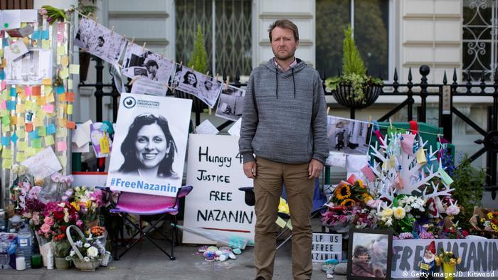 UK Richard Ratcliff in Hungerstreik