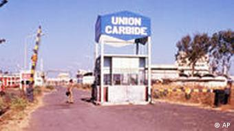 Indien Union Carbide Fabrik in Bhopal
