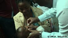 Mosambik Kinder bekommen Schluckimpfung gegen Cholera