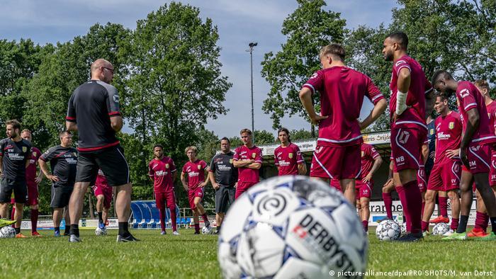 ساحة تدريبات نادي فالفيك الهولندي