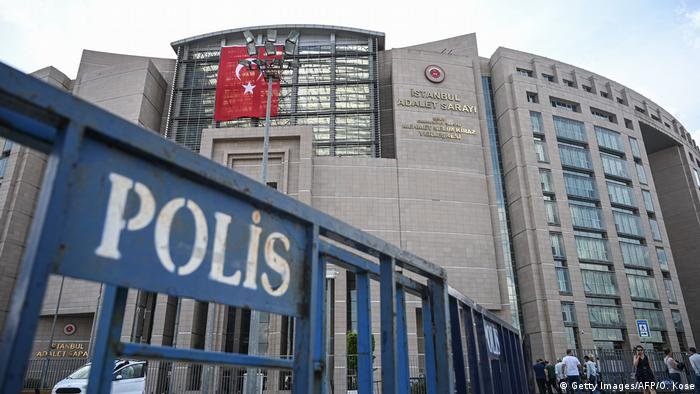Courthouse in Turkey