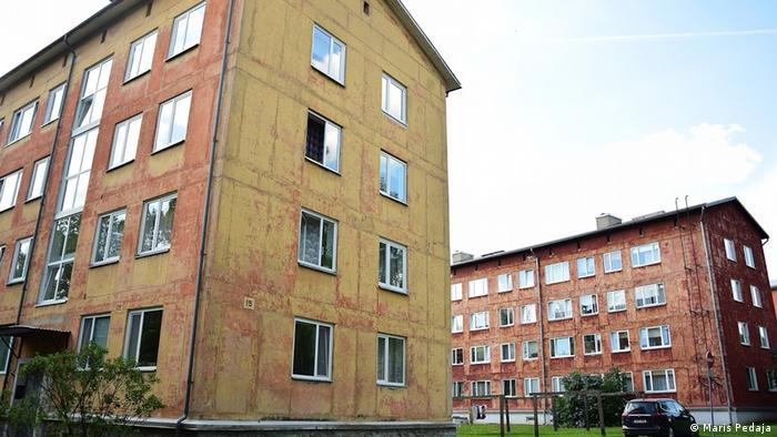 Wohnung in der estnischen Stadt Tartu vor der Renovierung