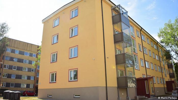 Renovierte Sowjetwohnungen in der estnischen Stadt Tartu