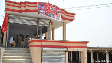 Afridi's campaign office is in the town of Jamrud in Khyber District.