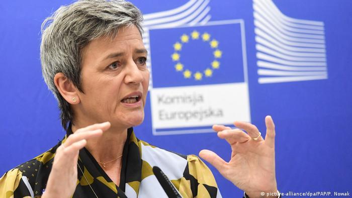 Margrethe Vestager: Nord Stream 2 nie jest europejskim projektem