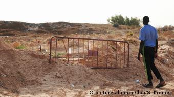 Ο Μαμαντού επισκέπτεται συχνά «το νεκροταφείο των αγνώστων»