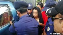 Bangladesch Barguna | Ayesha Akter Minni ist angeklagt ihren Ehemann umgebracht zu haben