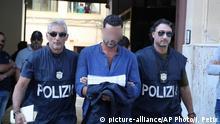 Italien Sizilien | Polizei führt mutmaßliches Mitglied der Mafia ab