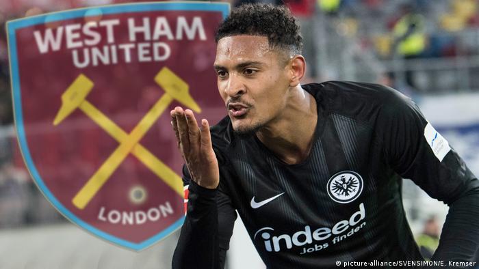 Deutschland Sebastian Haller wechselt zu West Ham United