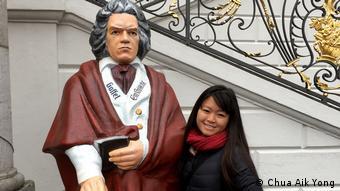 Megan Chua in Bonn