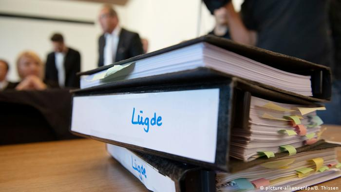 The district court in Detmold handed its first verdict in the Luegde child abuse case on July 17, 2019